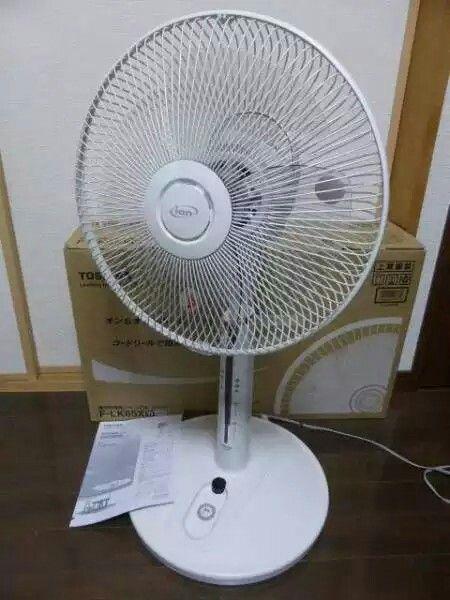 東芝扇風機 ハイポジション扇 マイナスイオン