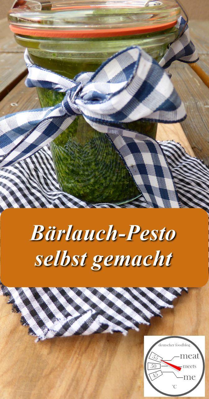Bärlauch-Pesto mit Pinien- und Sonnenblumenkernen Pünktlich zur Bärlauch-Saison habe ich dieses Pesto zubereitet. Meistens habe ich Bärlauch übrig und verarbeite dann den Rest zu Pesto oder Bärla...