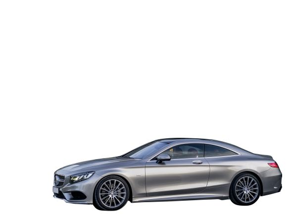 Pinnacle of Design and Desire Silver Mercedes Benz S Class Coupe 2015