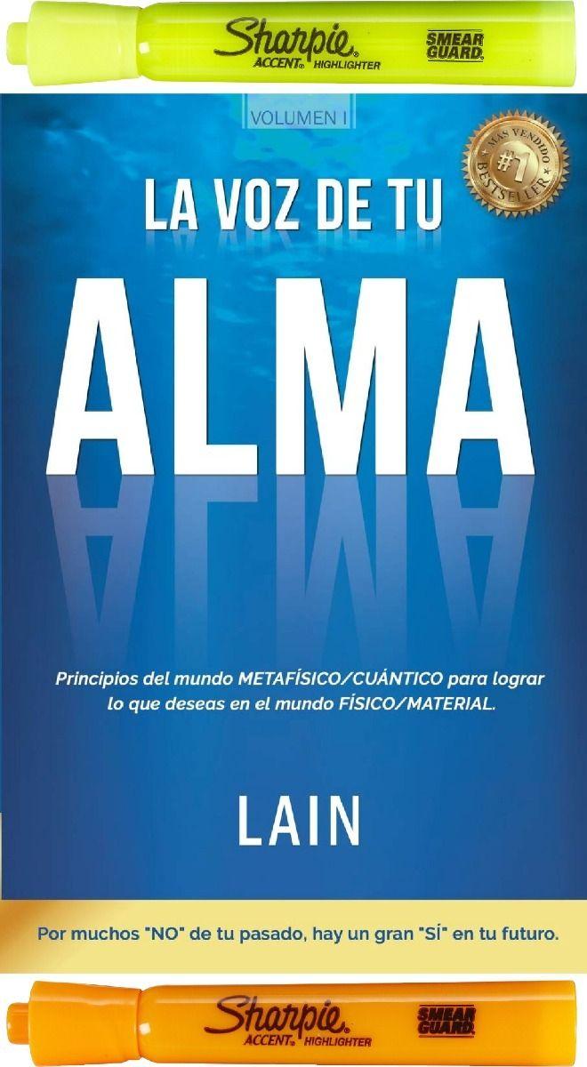 La Voz De Tu Alma Volumen 1 Lain Garcia Calvo 749 00 Libros De Metafisica Libros De Motivacion Leer Libros Pdf