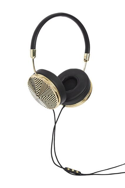 Help! My Headphones Hurt My Ears #refinery29  http://www.refinery29.com/comfortable-headphones#slide-11  Frends' headphones are specifically designed for women, and feature padded leather ear cushions. The chevron pattern on these is just an added bonus. ...