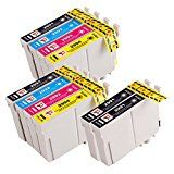 #10: PerfectPrint Compatible Ink Cartridge Replacement for Epson XP-442 XP-342 XP-245 XP-247 XP-445 XP-345 T2996 (Black/Cyan/Magenta/Yellow 10-Pack) #movers #shakers #amazon #electronics #photo