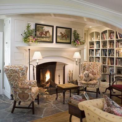 such a cozy reading corner