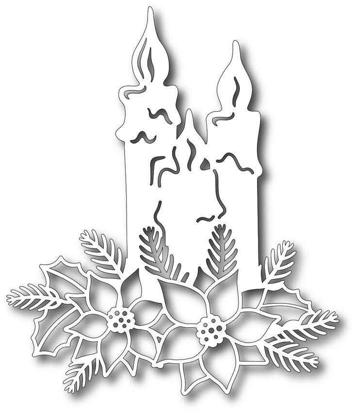 Tutti Designs - Cutting Die - Shining Candles,$12.99