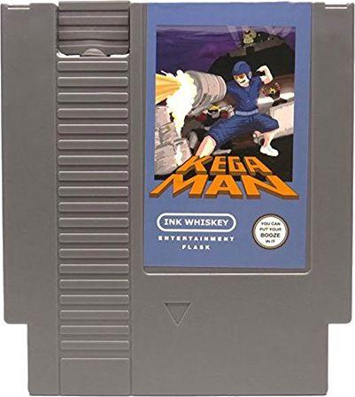 Kegaman NES Cartridge Hidden Flask