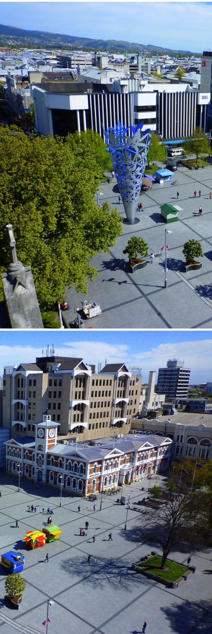 Cathedral Square - Christchurch, NZ