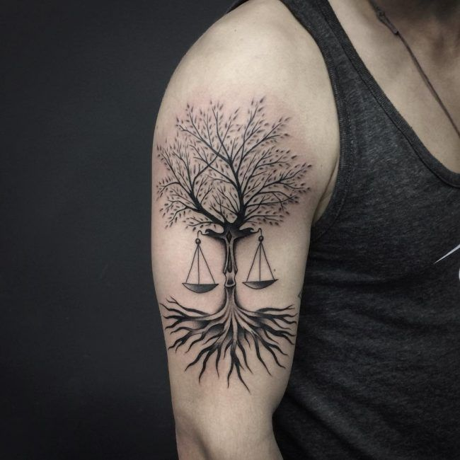 Best 25+ Libra Tattoo Ideas On Pinterest