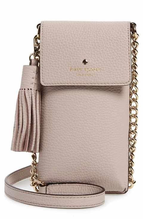 1868613cedd3 kate spade new york north/south leather smartphone crossbody bag ...