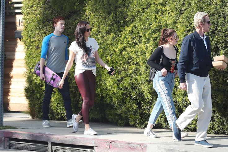 Emma Kenney out & about in Venice