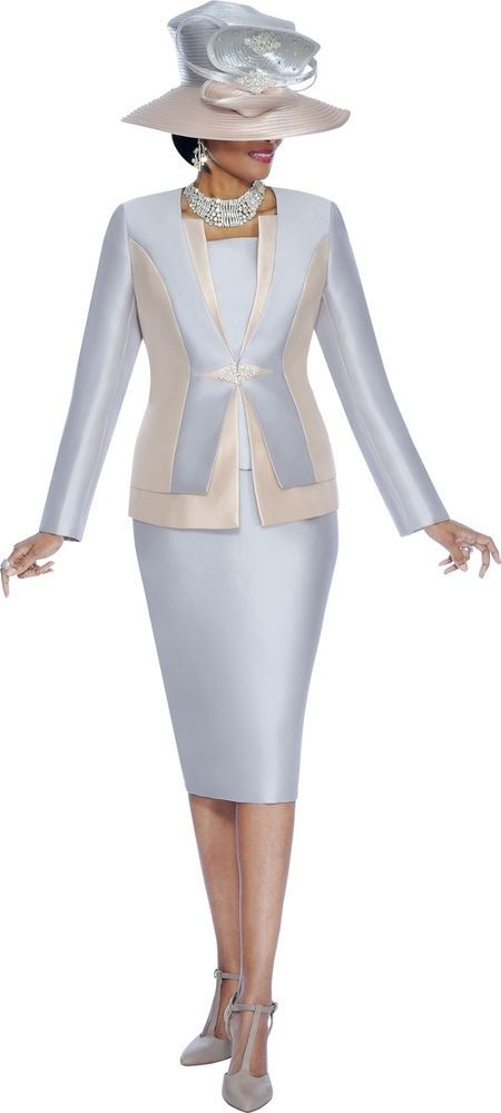 3618 3 PIECE SKIRT SUIT CAMISOLE INCLUDED SUSANNA FOR TERRAMINA 100% POLYESTER #SkirtSuit