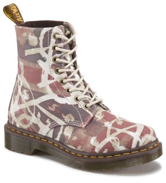 Dr. Martens Beckett Classic Union Jack Anarchy Fine Canvas - 26952