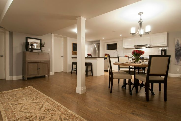 Open concept basement apartment, Income Property HGTV