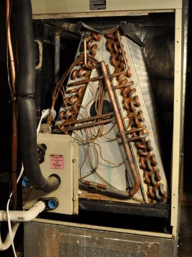 Causes And Fix For Frozen Inside Air Handler Coils Air Conditioning Unit Central Air Conditioners Air Conditioning Unit Heating Hvac