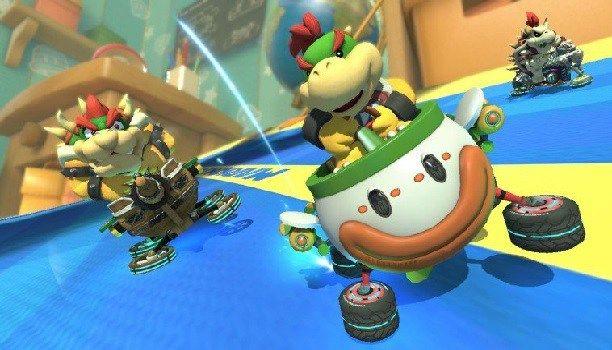 Mario Kart 8 Deluxe no incluirá circuitos nuevos. Mario Kart 8 Deluxe es el nuevo juego de carreras de la franquicia lo tendremos entre nuestras manos muy pronto será de los primeros títulos que saldrán a la venta tras el 3 de marzo que es la fecha oficial de salida de Nintendo Switch si todo va bien su lanzamiento será el próximo 28 de abril. Según la última información ofrecida Mario Kart 8 Deluxe sólo contendrá 48 pistas el mismo número que en Wii U añadiendo los DLCs pues el título se…