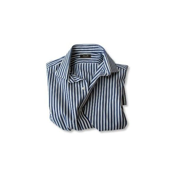 Five Excellent Shirts for Your Post-Summer Return to the Office ❤ liked on Polyvore featuring tops, shirts and blouses
