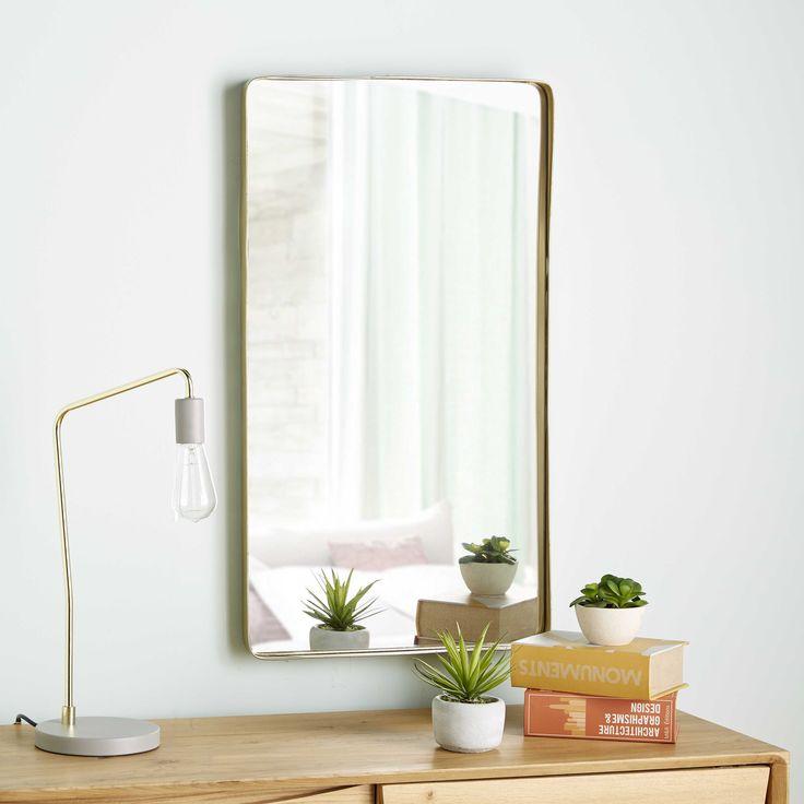 D coration maison salle de bain miroir maison du monde d coration maison et miroir metal - Accessoires salle de bain maison du monde ...
