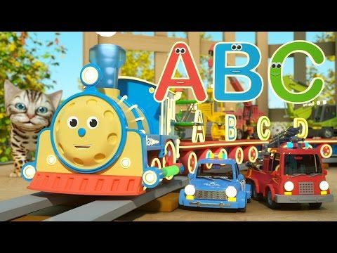 The Alphabet Adventure With Alice and Shawn the Train - FULL CARTOON - (Learn letters and words) - YouTube