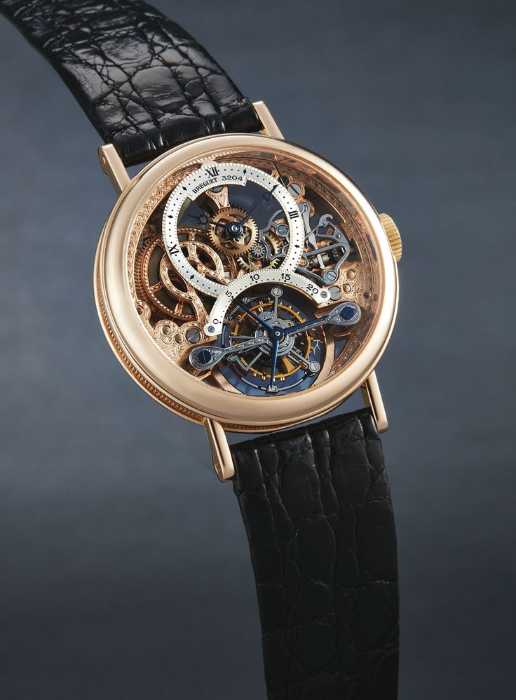 a fine pink gold skeleton ||| manual winding ||| sotheby's hk0752lot9l587en