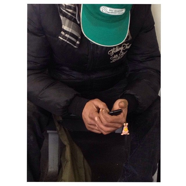 Uomini duri #bad #man #phone #winniethepooh #metro #roma #rome #lazio #italy #italia #iphonography