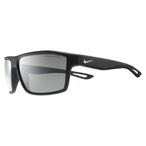 bb79b0b94886 Nike Cross Legend P Sunglasses - EV0942 (Matte Black Silver  Polarized Grey  Lens (Matte Black Silver Polarized Grey Lens))