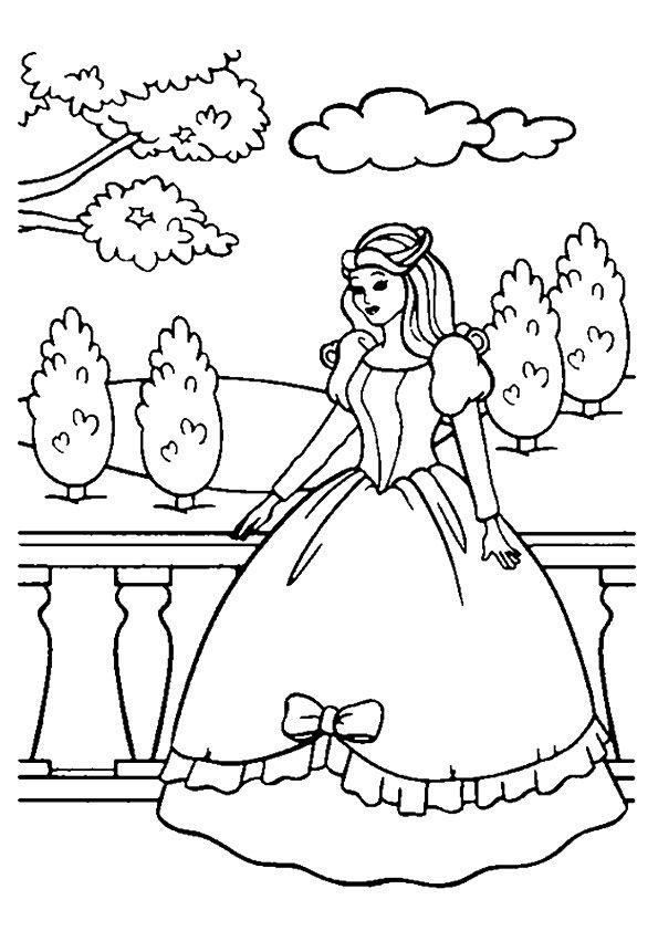 Prinzessin Ausmalbilder Ausmalbilder Ausmalbilder Gratis Kostenlose Ausmalbilder