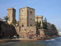 The Château de la Napoule is a restored French castle, located in Mandelieu-la-Napoule in the Alpes-Maritimes Department of France, It has been classified as an historical landmark since 1993, and the gardens are listed by the French Ministry of Culture as among the Notable gardens of France.
