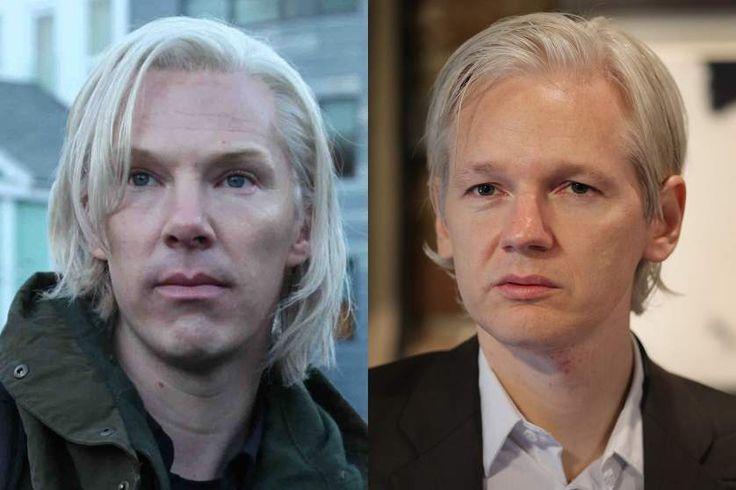 Benedict Cumberbatch plays Julian Assange in <i>The Fifth Estate</i>.