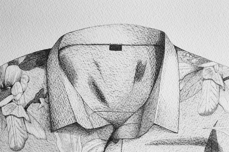 "Check out our Surf clothing here! http://ift.tt/1T8lUJC ""Shirt"" detail #shirt #chemise #aloha #draw #drawofthethay #art #artoftheday #artgram #thedesigntip #artist #sketch #sketching #blackandwhite #noiretblanc #dessin #design #surf #surfing #surflife #surfculture #inkonpaper #instaart #waves #longboard #basquecountry #saintjeandeluz #france #pen #handmade"