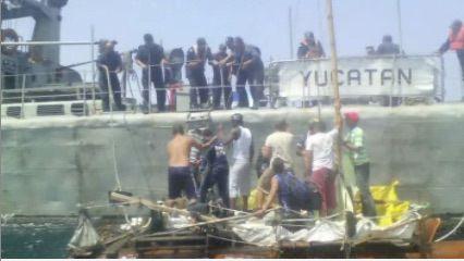 Marinos Mexicanos Rescatan A 23 Inmigrantes Cubanos En Costas De Yucatán
