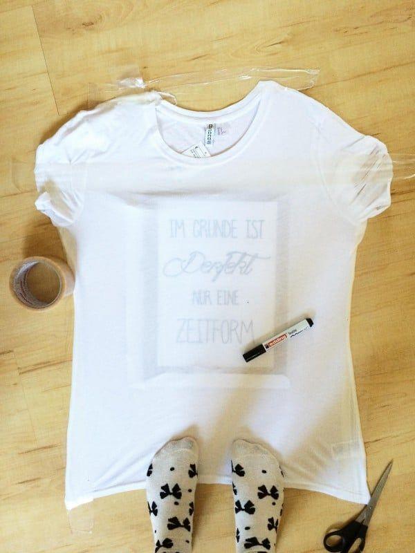 T Shirt Beschriften Handmade Kultur T Shirt Bemalen Shirts Tshirt Diy