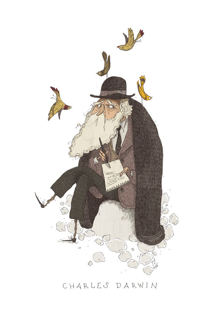 Charles Darwin by TeemuJuhani on DeviantArt