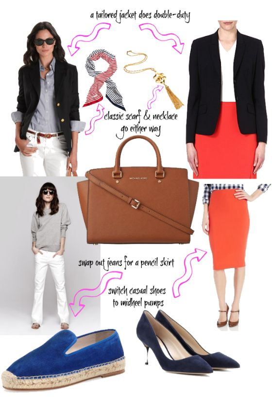 Dress Redo what to wear: From casual to corporate, from student to professional - FocusOnStyle.comFocusOnStyle | Sharon Haver