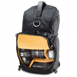"Kata ""3N1-20 Sling/Backpack"" Camera Bag  This sling/backpack has plenty of room while maintaining the quick ability to change lenses on the go."
