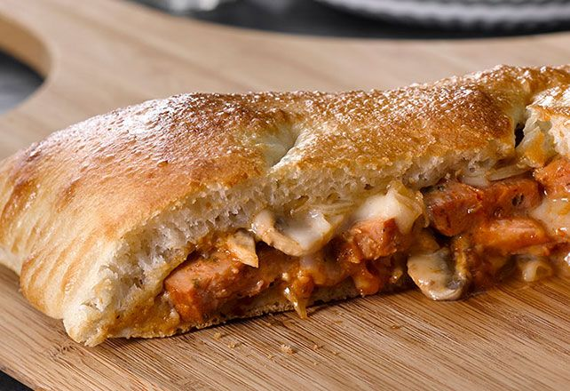 Use refrigerated dough to make our Sausage Calzone in a snap. This Sausage Calzone is so easy to make, you'll wonder why you waited so long to try!