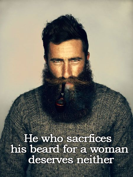 That's a good beard right there.