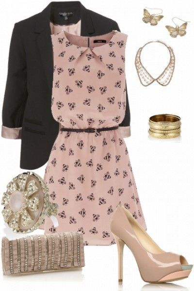 a girly chic look