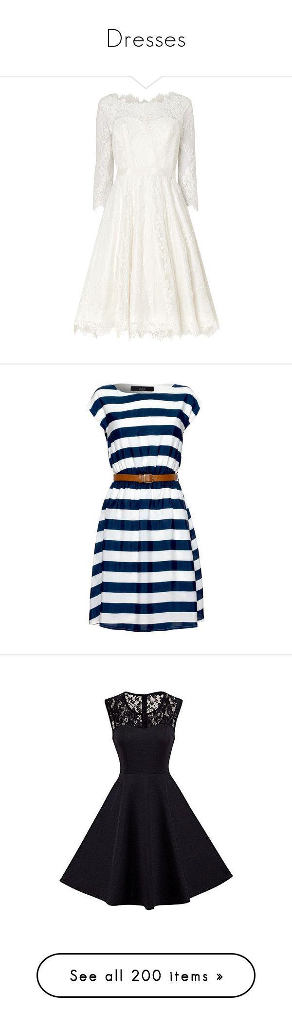 """Dresses"" by natia-sstyle ❤ liked on Polyvore featuring dresses, wedding dresses, wedding, wedding dress, robe, short dresses, vestidos, women's dresses & skirts, blue mini dress and navy mini dress"