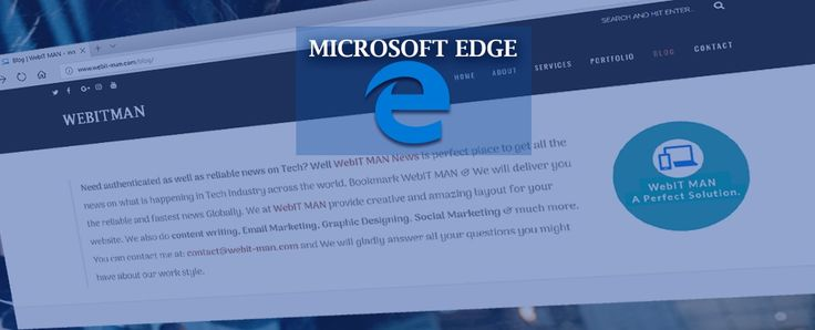 """Starting Last year Microsoft started supporting iPhone as well as android devices, but it missed the Microsoft Edge Browser support for iPad at that time. As per reports the support for iPad may happen soon & this confirms Microsoft's Moto of Edge Everywhere. Well that will not be like the Windows Phone Users """" SOON ™."""