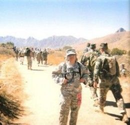 The Bataan Memorial Death March White Sands New Mexico