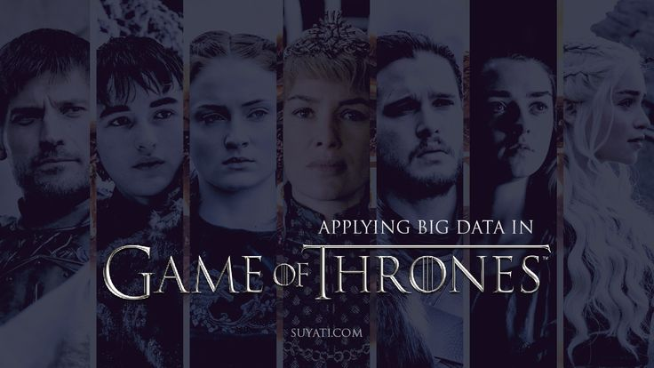Employing Big Data to predict deaths in Game of Thrones #GOT #GameofThrones