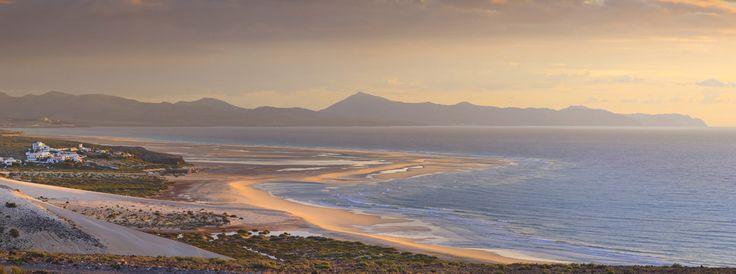 Playa de Sotavento, Fuerteventura (España)