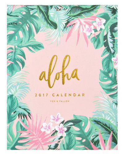 17 Beautiful Calendars for 2017   Poppytalk