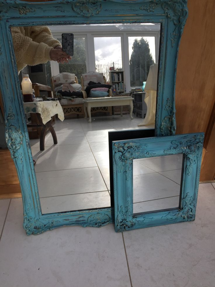 Shabby Chic Mirrors from Peppershells Vintage, Etsy