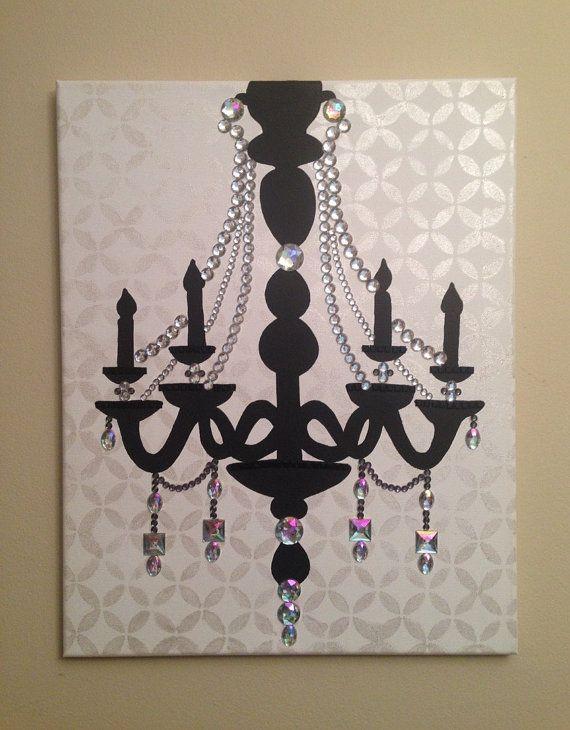 17 Best ideas about Chandelier Art on Pinterest