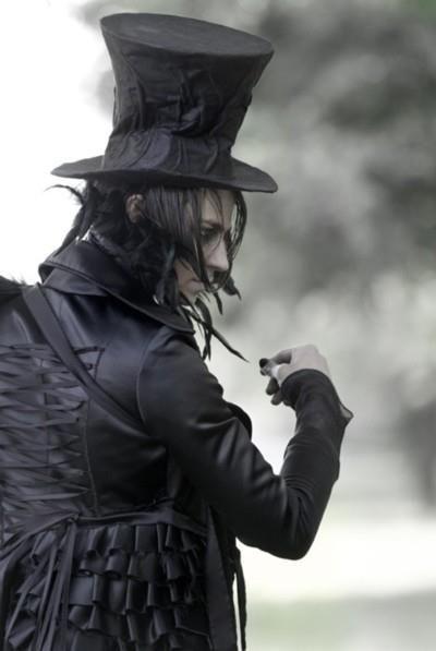 Seja bem-vindo ao mundo gótico!: Tema: Homens góticos (fotos)