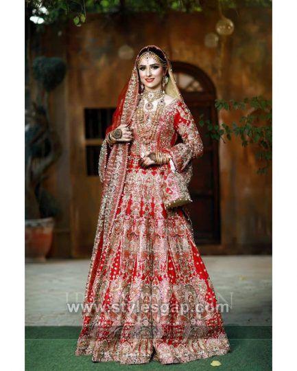aef1c58328 Latest Bridal Lehenga Designs Collection for Pakistani Indian & Asian Brides  (28)