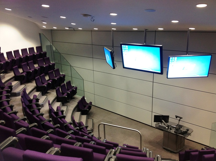 Coventry University Engineering And Computing Building Arup Associates One Half Of The New Circular Lecture Theatre Wall Lifts Up To Make It A Full