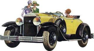 Ретро автомобили клипарты. Картинки для декупажа. Элементы для фотошопа. : На крыльях вдохновения