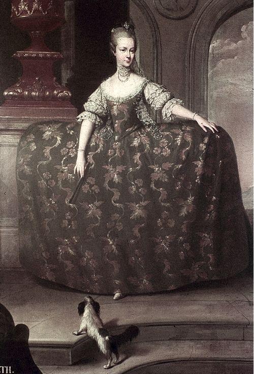 Maria Elisabeth of Austria, elder sister of Marie Antoinette.
