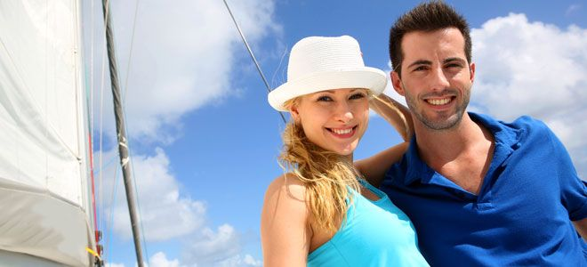 Historia de amor en un crucero: vacaciones en el mar #love
